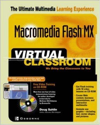 9780072223989: Macromedia Flash MX Virtual Classroom