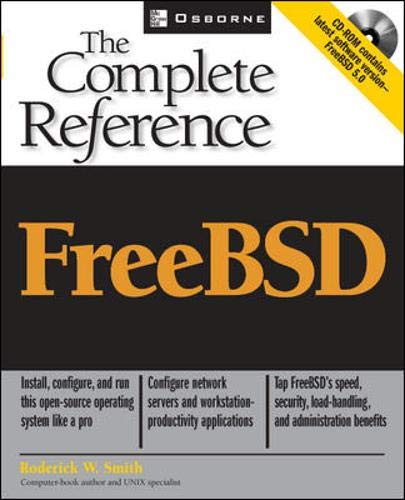 9780072224092: FreeBSD 5: The Complete Reference (With CD-ROM)