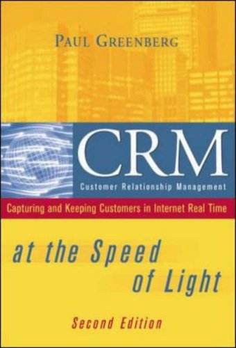 9780072224160: CRM at the Speed of Light, 2/e