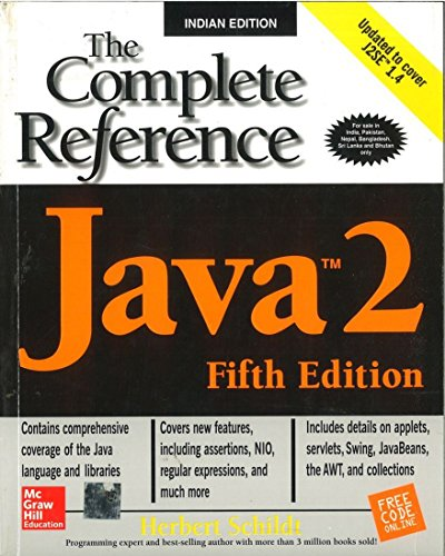 9780072224207: Java 2: The Complete Reference, Fifth Edition