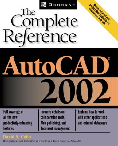 9780072224290: AutoCAD(R) 2002: The Complete Reference