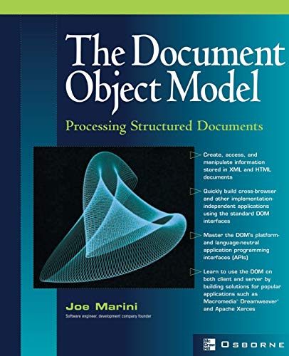 9780072224368: Document Object Model : Processing Structured Documents