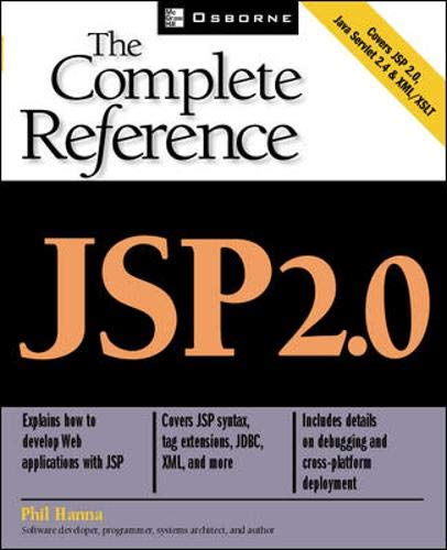 9780072224375: JSP 2.0: The Complete Reference, Second Edition (Osborne Complete Reference Series)