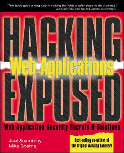 9780072224382: Web Applications (Hacking Exposed)
