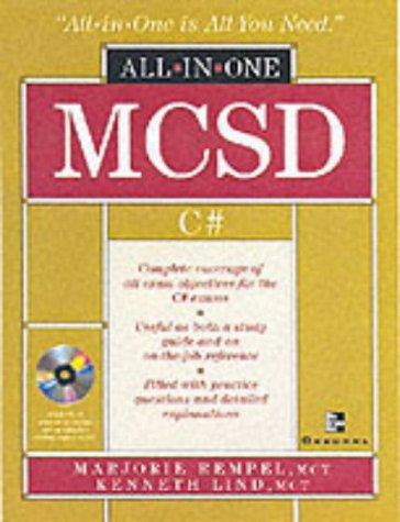 9780072224436: MCAD/MCSD C# (r) .NET (tm) Certification All-in-One Exam Guide (Exams 70-315, 70-316, 70-320)