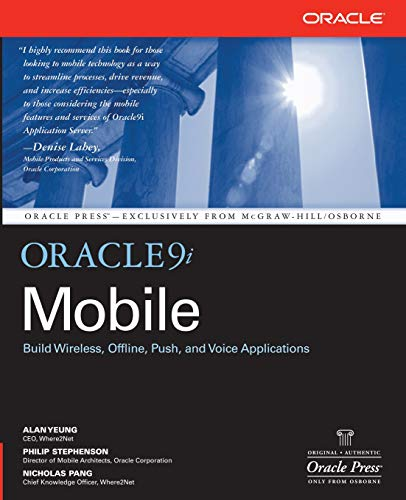 9780072224559: Oracle9i Mobile