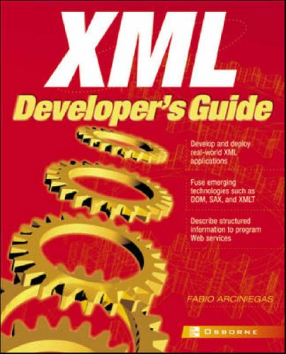 9780072224573: XML Developer's Guide
