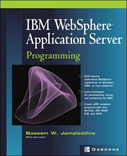9780072224597: IBM(R) WebSphere(R) Application Server Programming