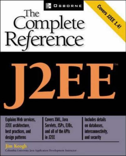 9780072224726: J2EE: The complete Reference