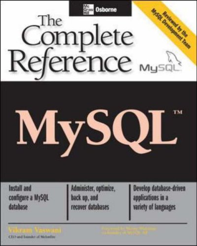 9780072224771: MySQL: The Complete Reference (Osborne Complete Reference Series)
