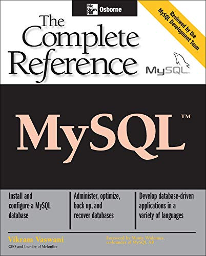 9780072224771: MySQL(TM): The Complete Reference