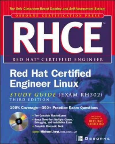 9780072224856: RHCE Red Hat Certified Engineer Linux Study Guide (Exam RH302) (Certification Press)