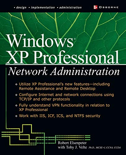 9780072225044: Windows XP Professional Network Administration