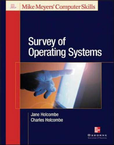 9780072225112: Survey of Operating Systems