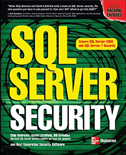 9780072225150: SQL Server Security
