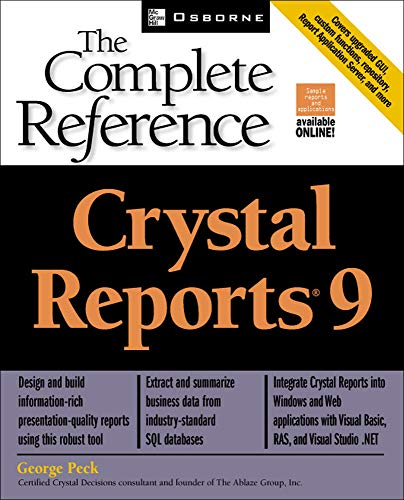 9780072225198: Crystal Reports(R) 9: The Complete Reference