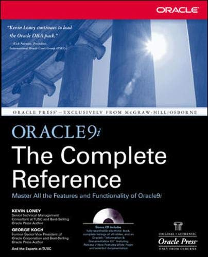 9780072225211: Oracle9i: The Complete Reference
