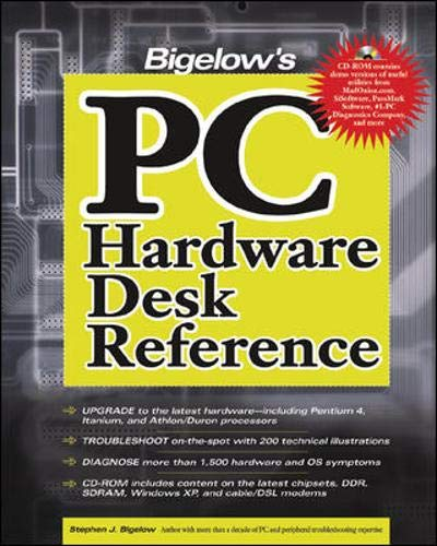 9780072225259: Bigelow's PC Hardware Desk Reference