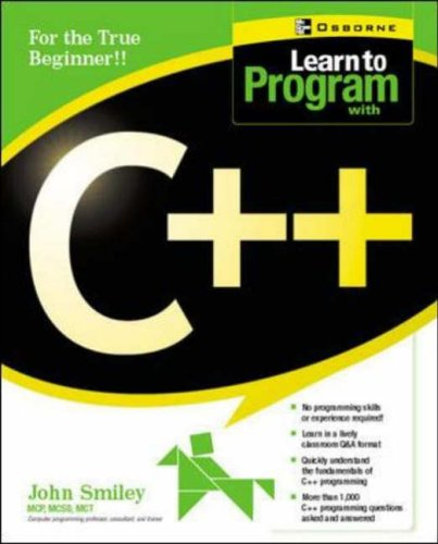 9780072225358: Learn to Program with C++