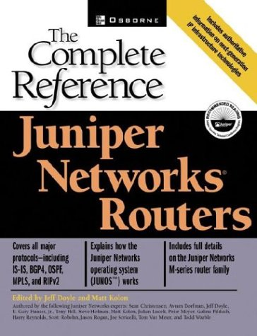 9780072225501: Juniper Networks Routers: The Complete Reference