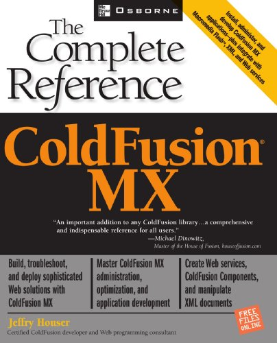 9780072225563: ColdFusion MX: The Complete Reference