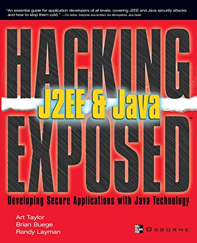 9780072225655: J2EE & Java: Developing Secure Web Applications with Java Technology (Hacking Exposed)