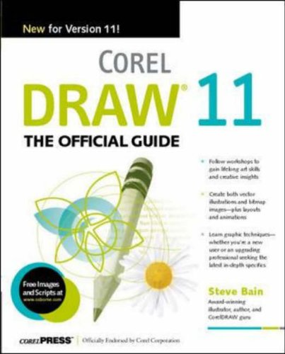 9780072226034: CorelDRAW 11: The Official Guide
