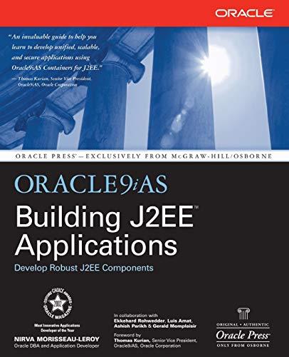9780072226140: Oracle9iAS Building J2EE(tm) Applications