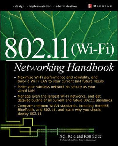 9780072226232: 802.11 (Wi-Fi): Networking Handbook