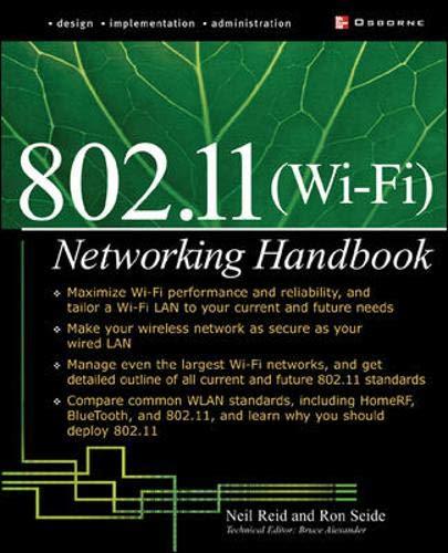 9780072226232: Wi-Fi (802.11) Network Handbook
