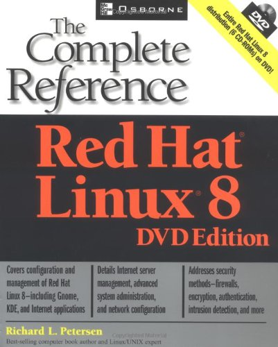9780072226461: Red Hat® Linux® 8: The Complete Reference DVD Edition