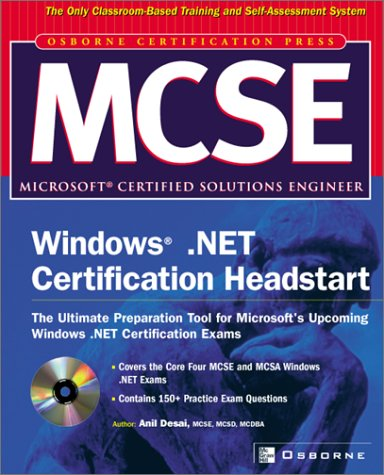 9780072226560: MCSE Windows .Net Certification Headstart with CDROM (Certification Press Study Guides)