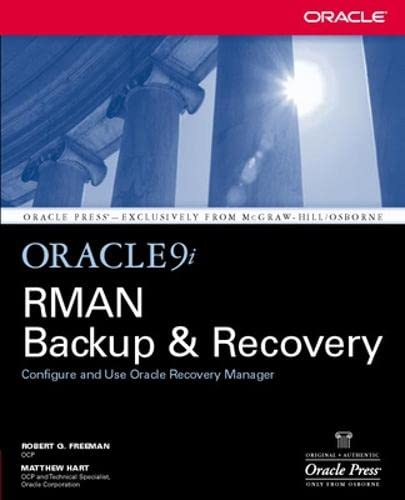 9780072226621: Oracle9i RMAN Backup & Recovery
