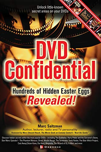 9780072226638: DVD Confidential: Hundreds of Hidden Easter Eggs Revealed