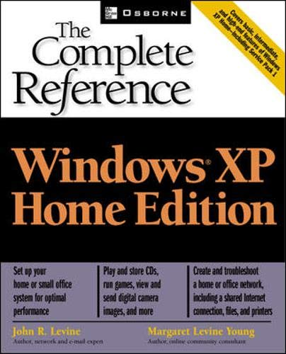 9780072226645: Windows(R) XP Home Edition: The Complete Reference