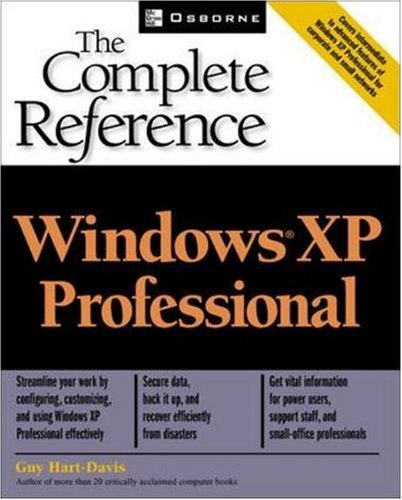 9780072226652: Windows(r) XP Professional: The Complete Reference
