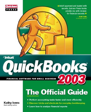 9780072226799: Quickbooks 2003: The Official Guide (Quicken Press)