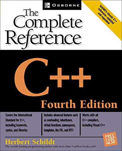 9780072226805: C++: The Complete Reference, 4th Edition (Osborne Complete Reference Series)