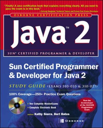 9780072226843: Sun Certified Programmer & Developer for Java 2 Study Guide (Exam 310-035 & 310-027)