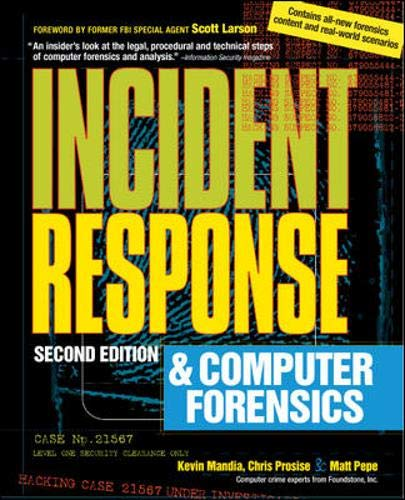 9780072226966: Incident Response & Computer Forensics, 2nd Ed.