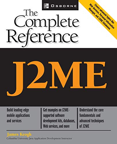9780072227109: J2ME: The Complete Reference