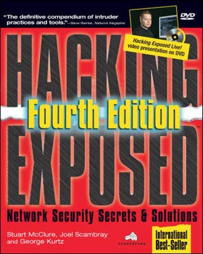 9780072227420: Hacking Exposed: Network Security Secrets & Solutions, Fourth Edition (Hacking Exposed)
