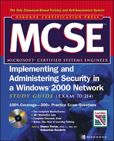 9780072227444: MCSE/MCSA Windows Server 2003 for a Windows 2000 MCSE/MCSA Study Guide (Exam 70-292 and 70-299) (COM10)