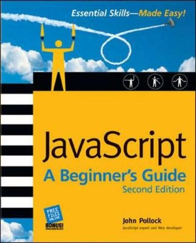 9780072227901: JavaScript: A Beginner's Guide, Second Edition