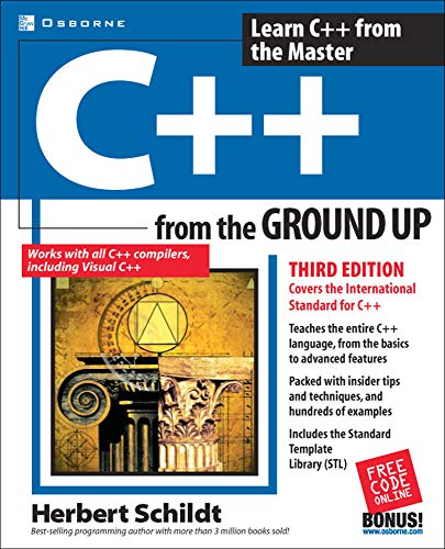 C++ from the Ground Up, Third Edition (0072228970) by Herbert Schildt