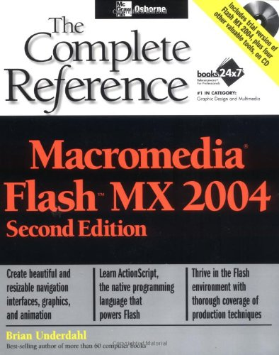 9780072229202: Macromedia Flash MX 2004: The Complete Reference, Second Edition