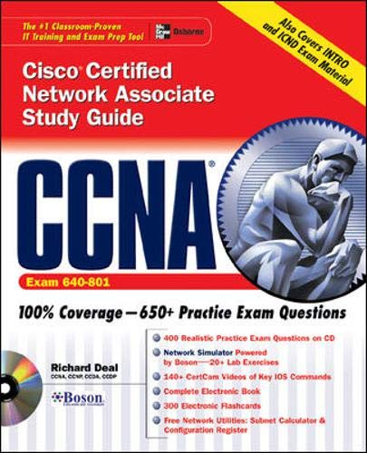 9780072229349: CCNA Cisco® Certified Network Associate Study Guide (Exam 640-XXX)
