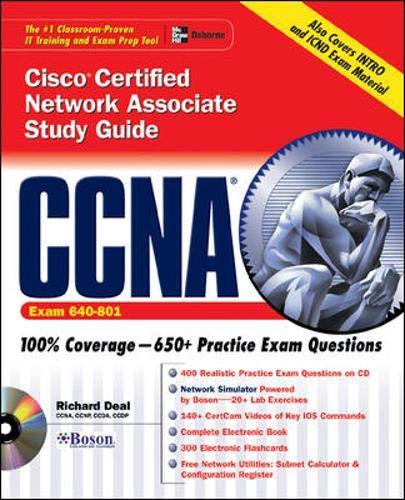 9780072229349: CCNA Cisco® Certified Network Associate Study Guide (Exam 640-XXX)