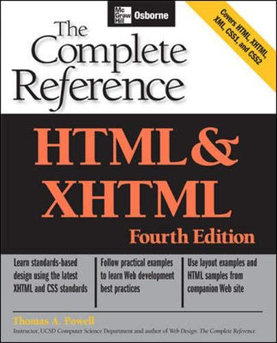 9780072229424: HTML & XHTML: The Complete Reference (Osborne Complete Reference Series)