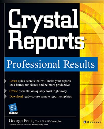 9780072229516: Crystal Reports Professional Results